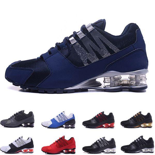 nouvelle arrivee 103fa 69ee8 Original Shox Avenue 802 803 Mens Running Shoes Athletic Outdoor Walk Shoes  Chaussure Homme Shox Nz Men Designer Trainers Tn Plus Eur40 46 Penny ...