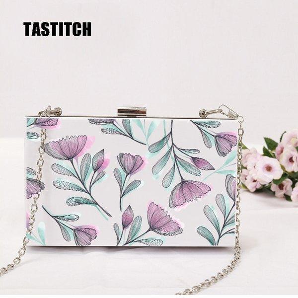 Großhandel New Wallet Frauen Umhängetasche Luxuxhandtasche Designermarke Mode Frau Weinleseblumen Eveningbag Beiläufige Partei Prom Clutch Von