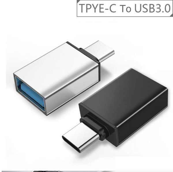 best selling Type c Otg adapter Male to Usb 3.1 Female Adapter otg Converter Adapter OTG Function for Samsung Smartphone