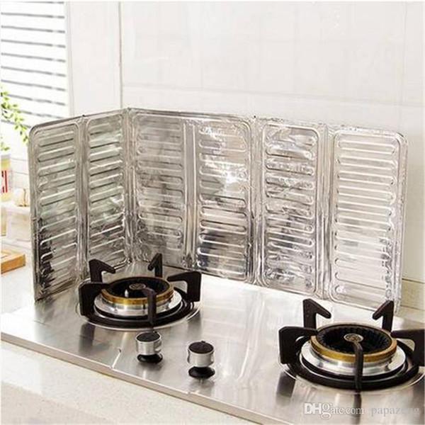 2019 Wholesales Aluminum Frying Pan Oil Splash Screen Cover Kitchen Cooking  Oil Splash Guard Board Anti Splatter Shield Kitchen Tool From Mamazemg, ...