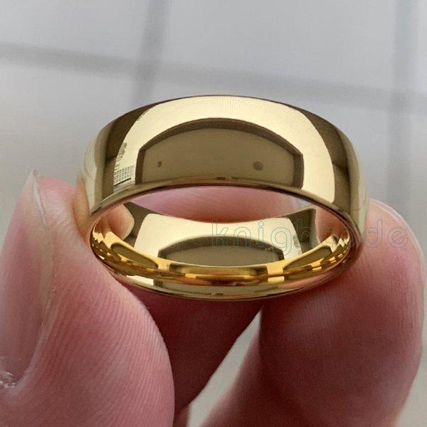 8 millimetri oro giallo