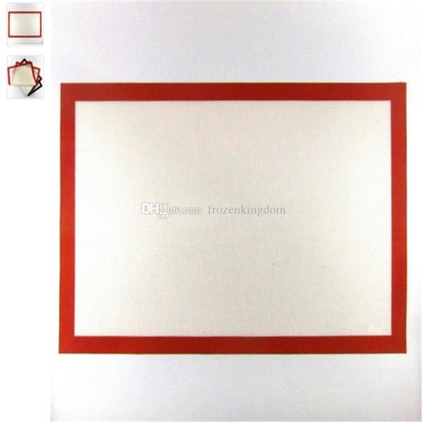 40 * 60 cm Große Größe Silikon Matten Backen Liner Beste Ofenmatte Teigmatten Wärmedämmung Pad Backformen Kind Tischset 2017101611
