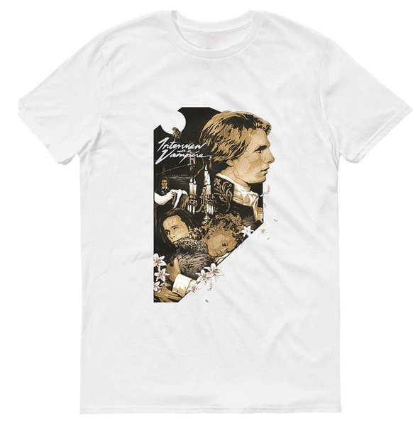 THE INTERVIEW WITH THE VAMPIRE , MEN'S, T-SHIRT , 100 % COTTON , M0080 Style Round Style tshirt