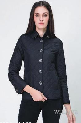 Высокое качество плед тонкая ватная куртка осень зима женская винтаж плюс размер хлопка-ватник верхняя одежда пальто 12 цвет зимняя куртка
