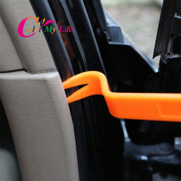 Color My Life 4Pc Car Audio Door Removal Tool for Volvo Ford Focus VW JETTA MK6 GOLF 5 6 7 Skoda Fabia