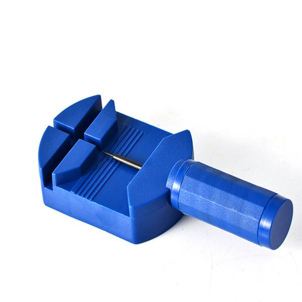 JINM Watch Repair Tool Kit, Blue Watch Band Link Pin Remover Strap Adjuster Opener Repair Maker Tool