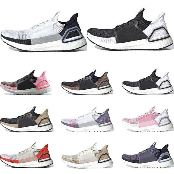 adidas ultra boost Yeni erkekler kadınlar için koşu ayakkabıları Oreo REFRACT Gerçek Aktif Turuncu erkek eğitmenler nefes spor sneakers boyut eur 36-45