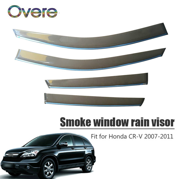 For 2007 2008 2009 2010 2011 Honda CR-V Window Visor Vent Rain Deflector