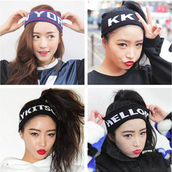 Absorbent Cycling Yoga Sport Sweat Headband Running Sweatband for Men Women Yoga Hair Bands Head Sweat Bands Sports Safety