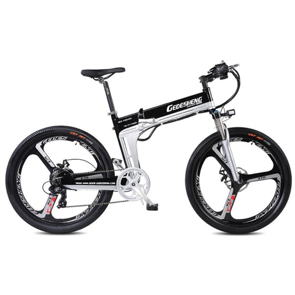 best selling 26 Inches Aluminum Alloy Folding Electric Mountain Bike,Double Hydraulic Disc Brake, Suspension Fork, Lithium Battery Bicycle