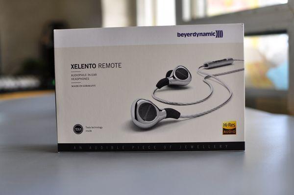 Beyerdynamic in-ear Earphones XELENTO REMOTE Stereo Headset Headphone with micphone Headset Headphones brand Sealed retail box Drop