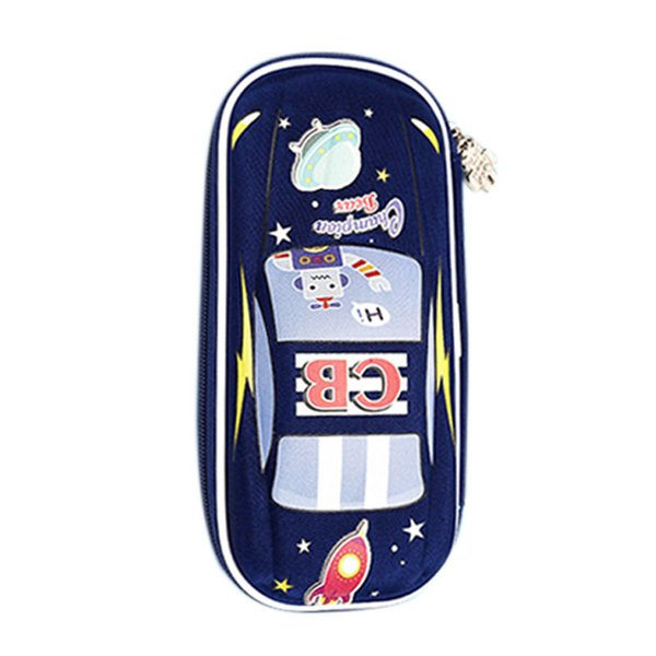 CHAMPION BEAR Multifunctional stationery box cute creative car pencil case multi-layer pencil bag student school supplies