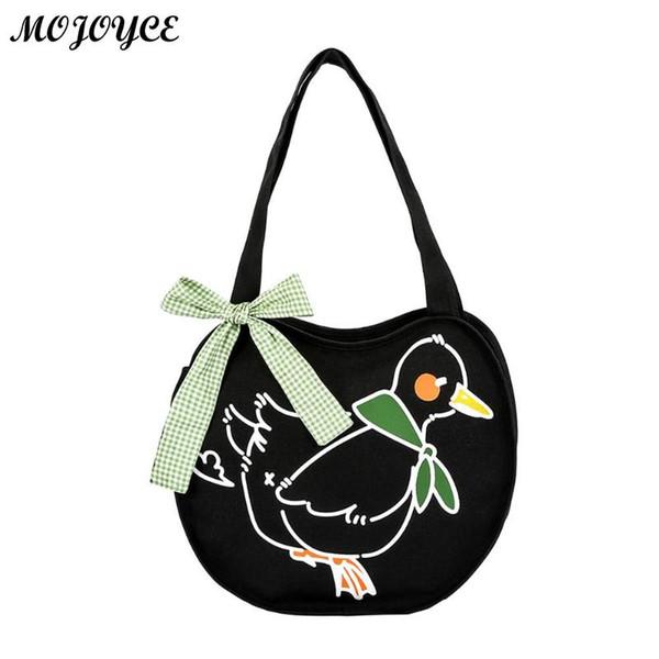 Women Cute Canvas Tote Bag Casual Beach Handbag Eco Shopping Bag Daily Use Foldable Canvas Shoulder Bags for Ladies Bolsas Mujer