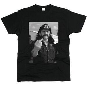 Lemmy Kilmister MotorRoRock Erkek Tişörtlü