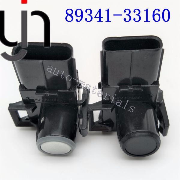 4pcs 89341-33160-C0 inversion des capteurs de stationnement avant avant sans fil pour GX460 RX350 RX450h Sequaia 89341-33160 voiture