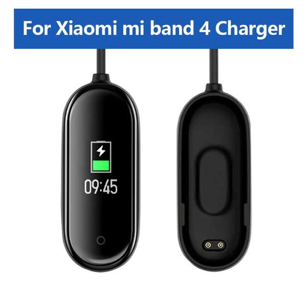 Carregadores USB Para Xiaomi Mi Banda 4 carregador inteligente Banda Pulseira Pulseira cabo de carregamento para Xiaomi MiBand 4 3 Carregador Linha Assista Acessórios