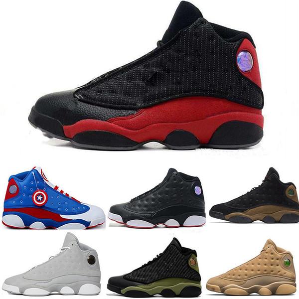 Yeni Stil Erkekler Için Basketbol Ayakkabıları Yardımcı 13 s Tasarımcı Erkekler Sneakers Çok fonksiyonlu Beyaz Kahverengi Mavi Açık Spor eğitmenler Ayakkabı Boyutu 13