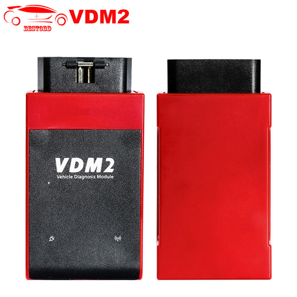 UCANDAS VDM 2 VDM2 V5.2 Auto OBD2 Diagnostic Tool WIFI Support for Android Free update online VDMII VDM2 OBDII Code Scanner