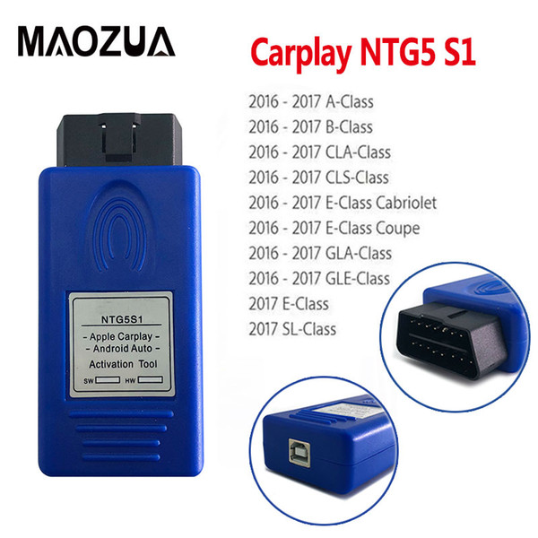 2018 Newest NTG5 S1 CarPlay for Apple CarPlay and Android Auto activation tool iPhone/Android for NTG5S1 NTG5 S1