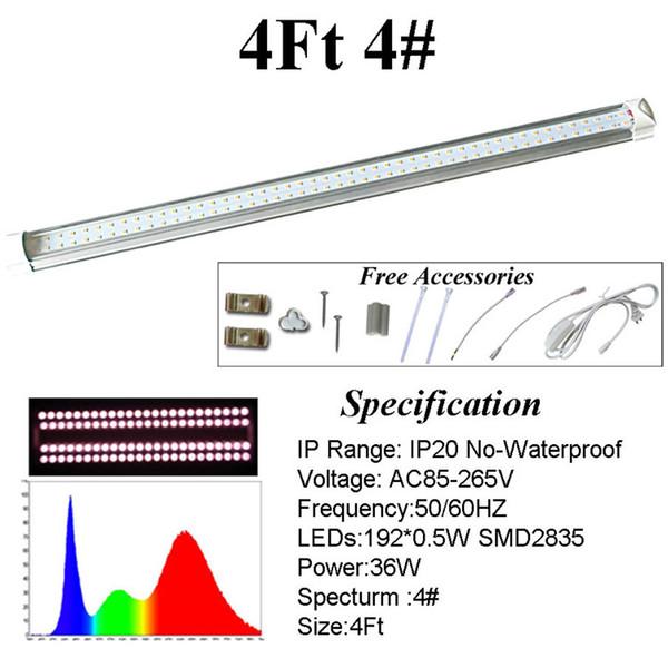 Трубка спектра 4фт 4#