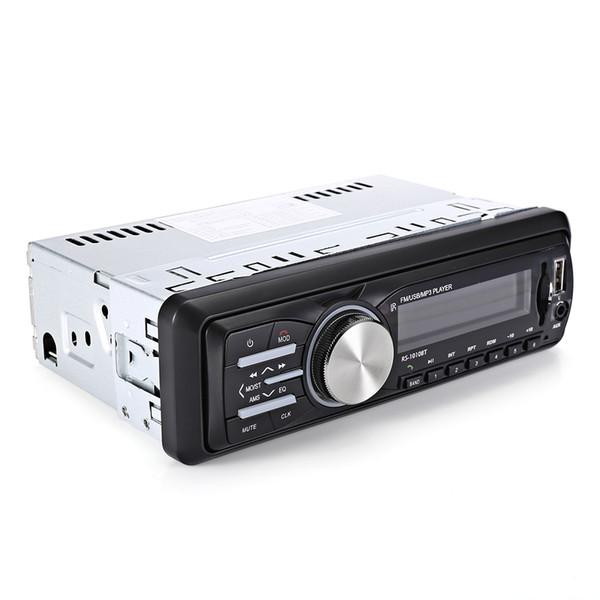 RS-1010BT araba dvd Bluetooth Hands-Free Çağrı Müzik Çalma Stereo MP3 Çalar FM Radyo Desteği AUX USB SD Kart Girişi
