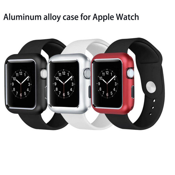 360 Magnetic Protective Case Aluminum Metal Frame Alloy Protector Cover Case for Apple Watch iWatch Series 2 3 4 38/42mm Series 4 40/44mm