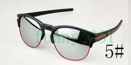 Verão de Alta Design Da Marca homem esporte Half-frame óculos de sol mulher ao ar livre vento Óculos de Sol Para A Pesca De Condução Polarizada lente frete grátis