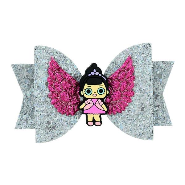 Baby girl hair clip cartoon bowknot Sequins dovetail fashion hair clip kid girl cute hair accessories