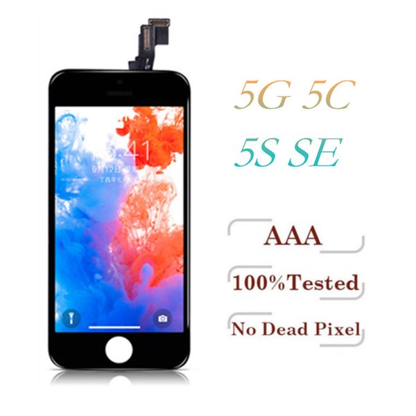 Grade A +++ For iPhone 5 5S SE 5C LCD Display With Touch Screen Digitizer Full Assembly & Free DHL