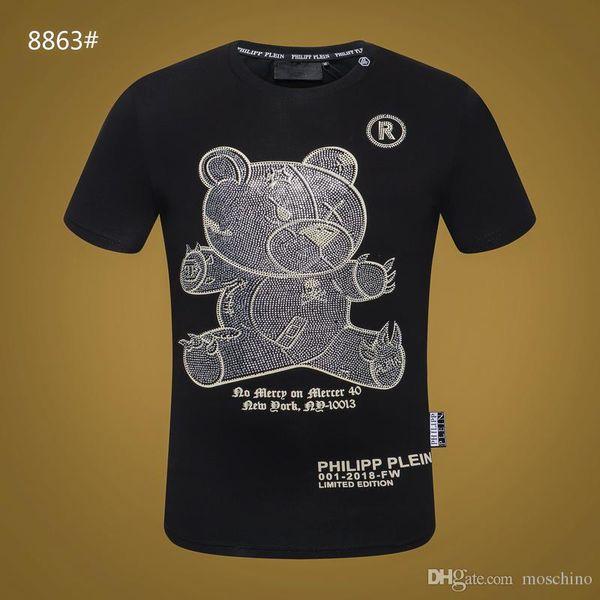New Arrivals Moda para hombres marcas de ropa Floyd Mayweather 50.ª victoria rhinestone T-shirt para hombre de calidad superior 100% camiseta de algodón para hombres