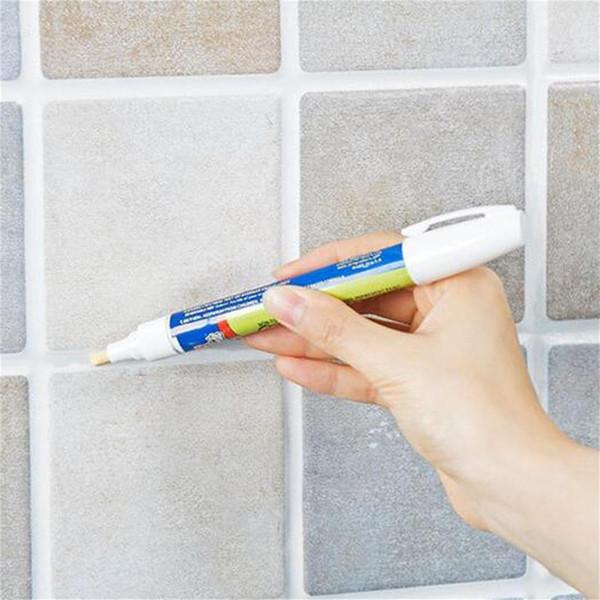 Herramienta de la decoración del hogar DIY de la pluma de la pared del marcador del azulejo de la reparación con la semilla reversible no tóxica e inodora