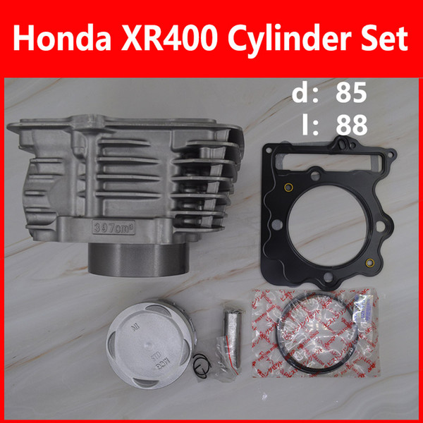 top popular 2088 Engine Cylinder Kit Honda XR400 TRX400 Motorcycle Cylinder Kit Waith Piston Cylinder block And Pin for Honda 2021