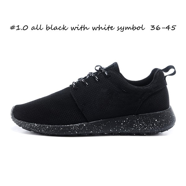 #1.0 all black with white symbol 36-45