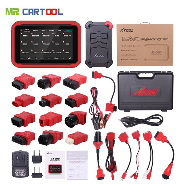 XTOOL EZ400 Scanner Automotive System Diagnoctic Tool Car Engine ABS Airbag  Transmission Immobilizer ECM Update Online Android Network Diagnosis Tools