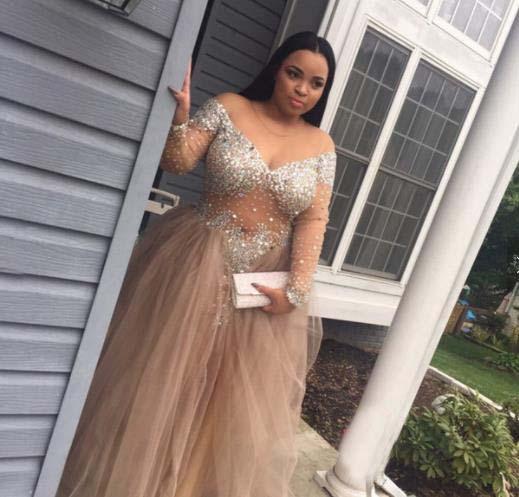 Más el tamaño Crystal Diamond largo Bling DuBai vendaje al por mayor vestido de noche barato con cuentas hermoso vestido de noche árabe para las mujeres embarazadas