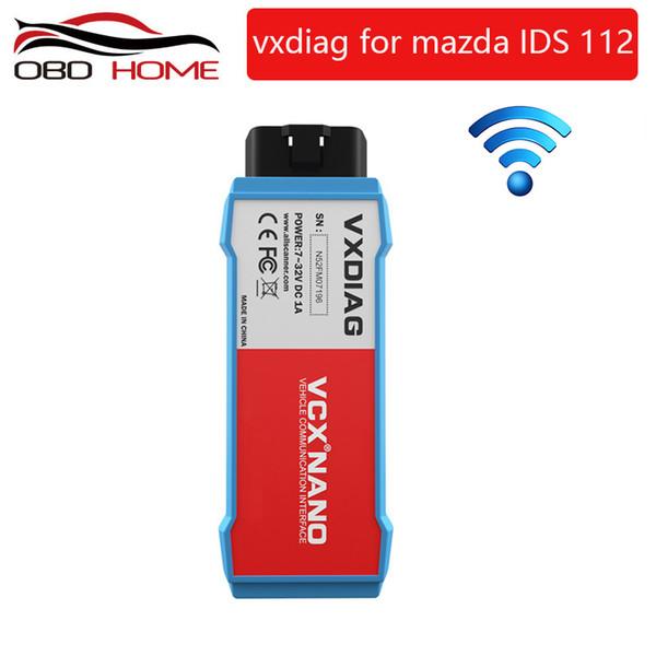 OB2 Diagnostic tool Original VXDIAG VCX NANO for Mazda 2 in 1 IDS V112 Auto Diagnostic Tool Scanner Free shipping