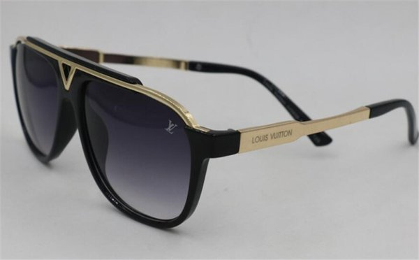 mejor sitio web 14bcc 989c3 LOUIS VUITTON LV Sunglasses Popular Fashion Men Designer Square Plate Metal  Combination Frame Top Quality Anti UV400 Lens With Box Eyeglass Dragon ...