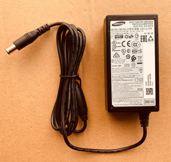 best selling new Suitable display Genuine for Samsung AC DC Power Adapter A3514_FPN A3514_DPN 14V 2.5A 35W
