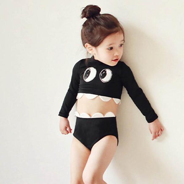 Bebê tubarão bebê swimwear meninas swimwear crianças swimwear fatos de banho meninas maiôs crianças fatos de banho criança conjuntos beachwear a6837