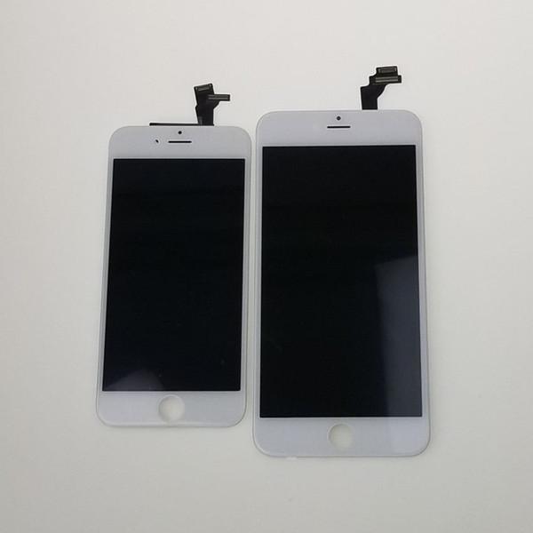 Ordnen Sie A +++ für iPhone 6 LCD-Ersatz-hochwertige Touch Screen Analog-Digital wandler Versammlungs-Anzeige 10 PC / Los Freies DHL-Verschiffen