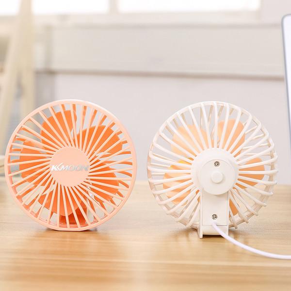 Ahorro mini escritorio de aire más fresco KKmoon Mini estilo portátil USB ventilador silencioso ventilador de Energía para los varios lugares