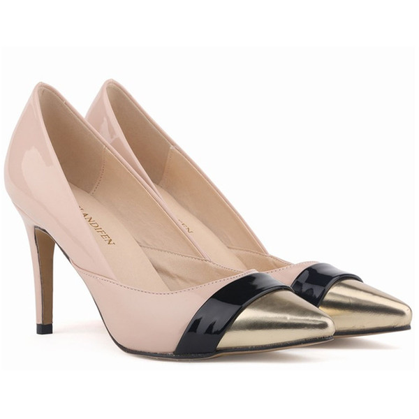 e880cf1d7b0 Hot Sale-Womens Red Bottom High Heels Pointed Toe Patent Pu Leather Heels  Corset Style