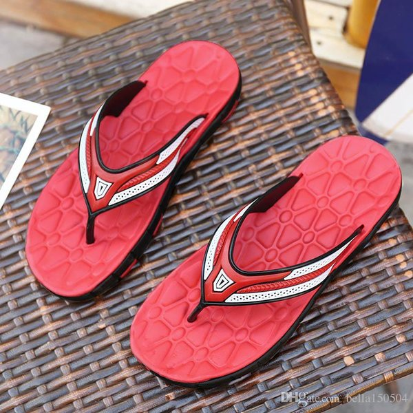good quality designer Sandals Rubber Slide Sandal Slippers Green Red blue Stripe Fashion Design Men Classic Summer Flip Flops beach Sandal