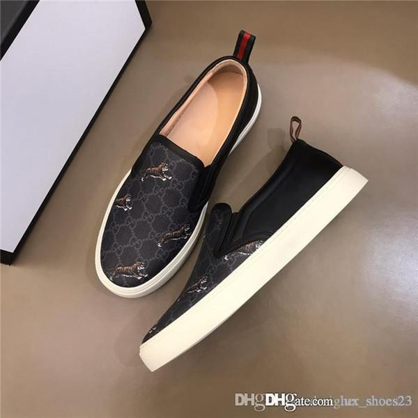 Novos produtos de primavera e verão, Sapatos masculinos clássicos de moda masculina, Sapatos de lazer requintado para homens em PVC de padrão 3D