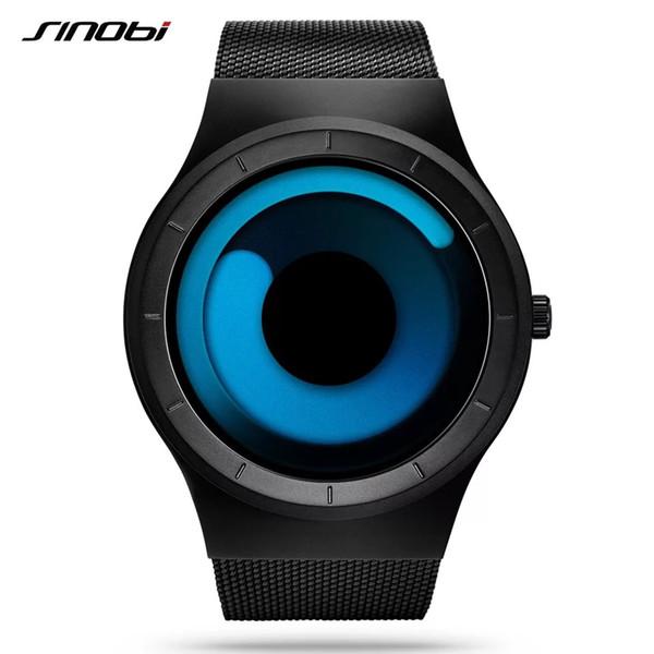 Les nouvelles montres pour hommes branchées et cool de Nobi, noires, bleues, blanches, roses, répondent aux besoins individuels, performances imperméables, montrent les tendances de la mode,