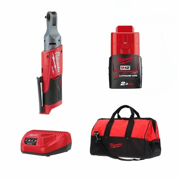 Milwaukee M12 FUEL GEN2 1 / 4in Drive Sub Компактный храповик - M12FIR14-201B