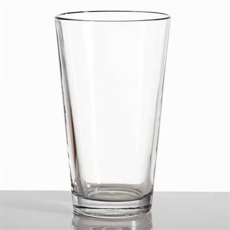 Verre à bière de blé transparent Conique Pint Glasses CE 20oz / 568 ml