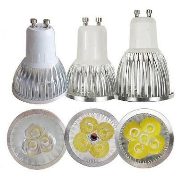 top popular Led Lamp 3W 4W 5W 6W Dimmable GU10 MR16 E27 E14 GU5.3 B22 Led Spot Light bulbs Spotlight Bulb Downlight Lighting 2020