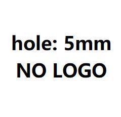 5 мм без логотипа глянцевый стальной цвет