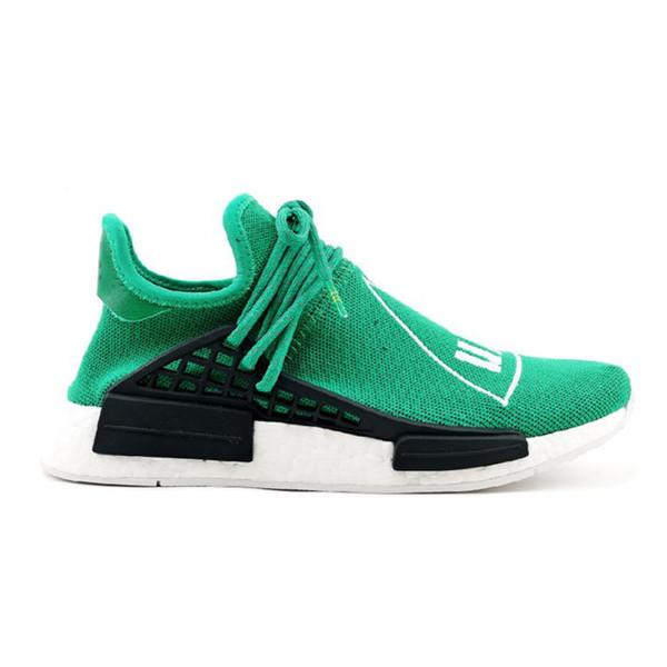 Race Human Nmd Running Shoes Pharrell Williams Hu Trail Oreo Nobel Ink Black Nerd Designer Sneakers Men Women Shoes